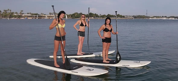 paddle boarding Florida